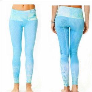 blue teeki ganesha dream leggings
